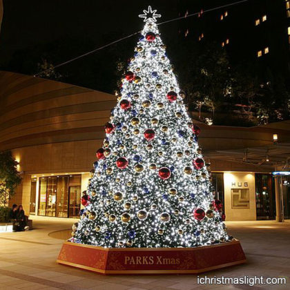 Outside decorated animated christmas trees #1: icl 2122 420x420