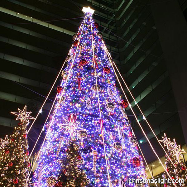 Outdoor Lighted Christmas Trees For Sale