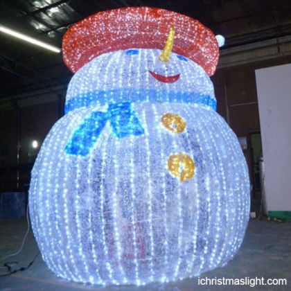 LED snowman outdoor christmas decorations