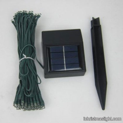 Solar garden lights holiday solar string lights