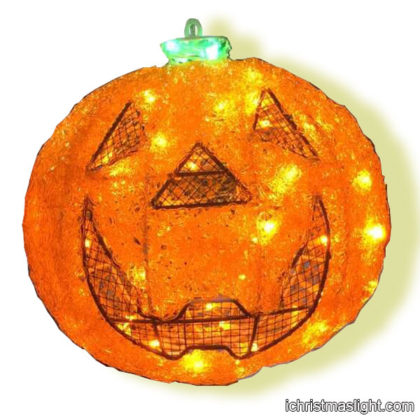 Halloween decorations LED lighted pumpkins