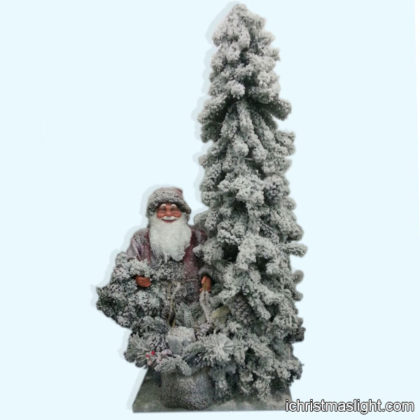 Wholesale flocked artificial christmas trees