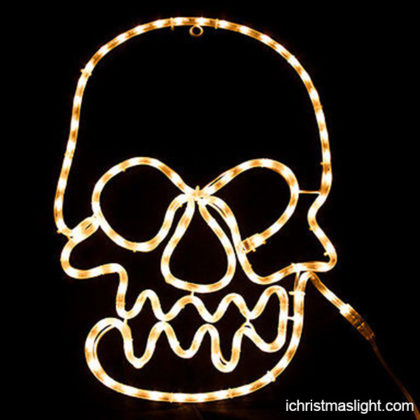 Halloween skull rope light motif wholesale