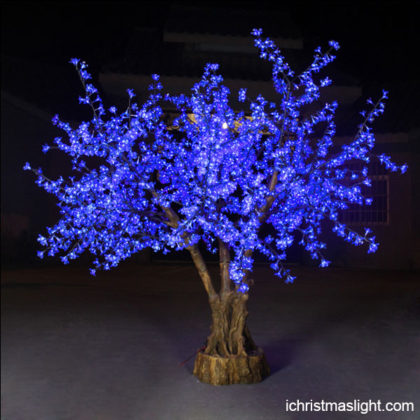 Blue LED cherry blossom tree wholesale
