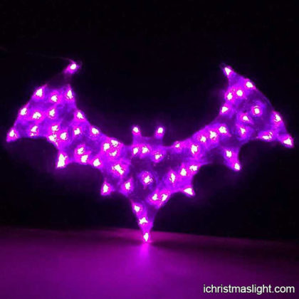 LED light Halloween bats decoration craft