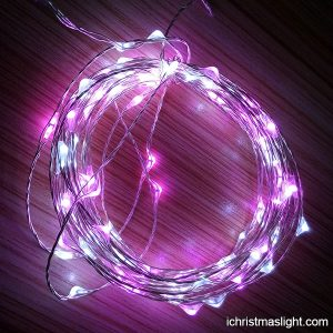 Outdoor LED copper wire string fairy lights iChristmasLight