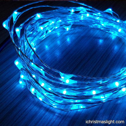 Wholesale fairy blue led christmas lights