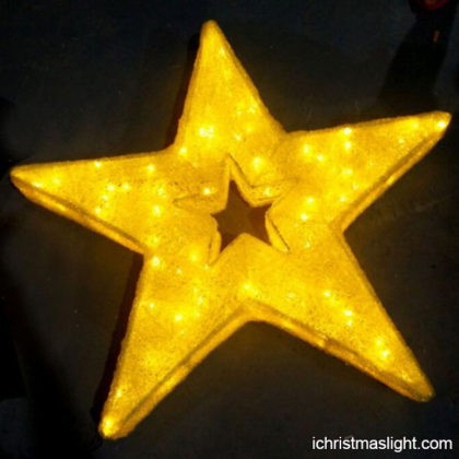 LED light star decorative hanging lights