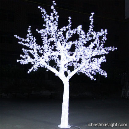White acrylic LED crystal trees manufacturer