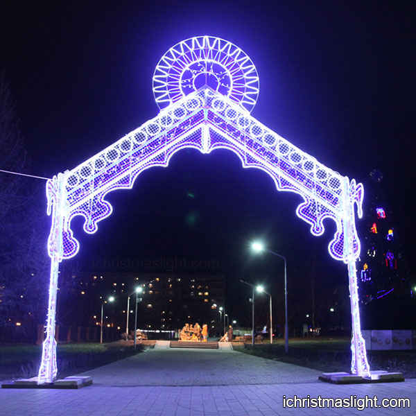 luxury christmas decorations big light arch - Christmas Arch Decorations