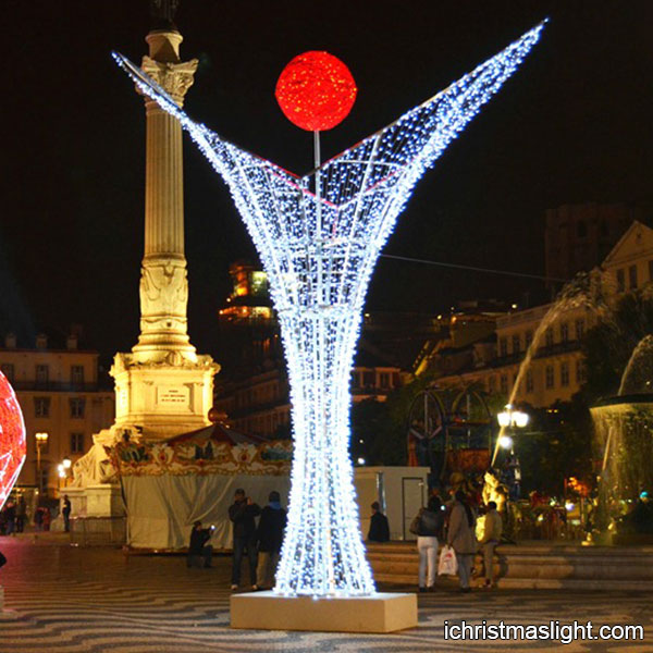 3d led lighted unusual xmas decorations - Unusual Christmas Decorations Outdoor