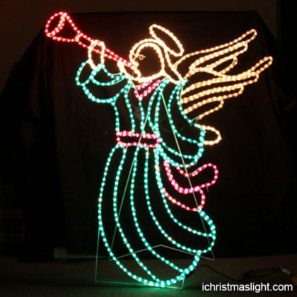 Christmas decorative LED lighted angels