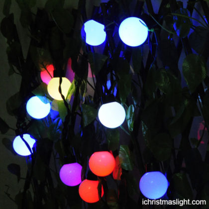 Color changing 5CM ball garden party lights