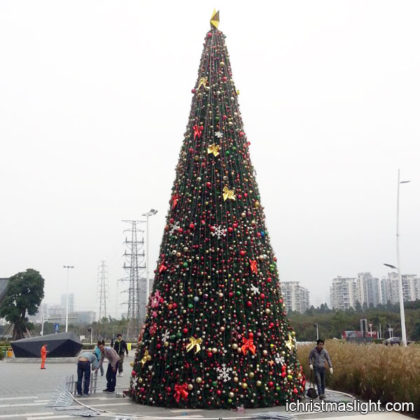 Decorated large christmas trees for sale