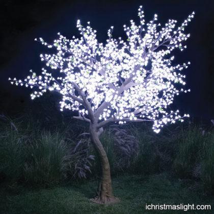 Wedding decorative white blossom tree