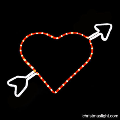 Valentine and wedding LED heart decorations