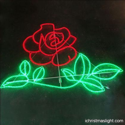 Outdoor wedding lighting LED rose lights
