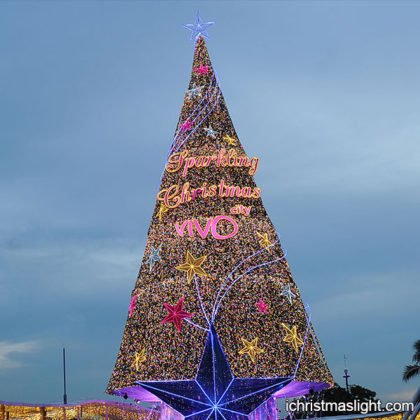Outdoor commercial huge Christmas trees