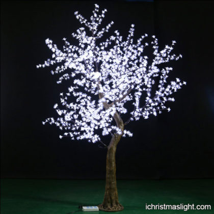 Artificial white lighted trees for weddings
