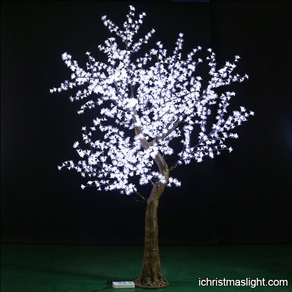 Artificial Lighted Christmas Trees
