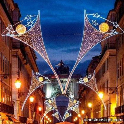 Street decorative LED motif festive lighting