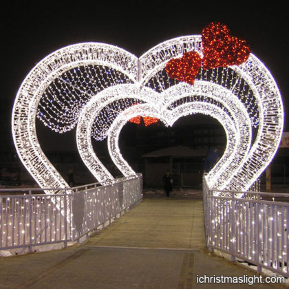 Wedding and valentine lighting decoration