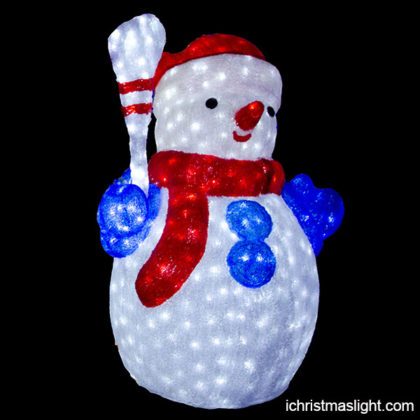 Christmas decorative LED snowman for sale