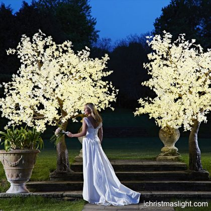 Wedding decorative maple light up trees
