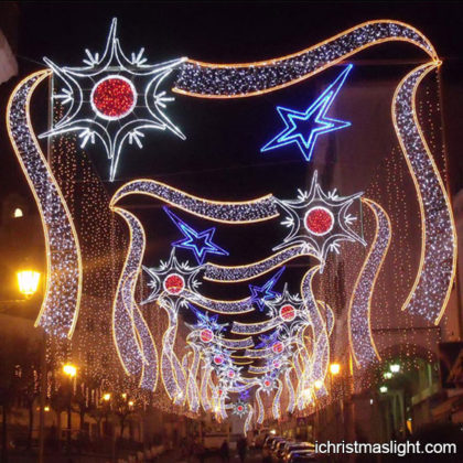 Large commercial Christmas street lights